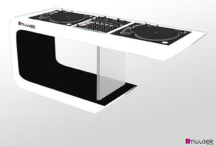 muusek dj furniture. Black Bedroom Furniture Sets. Home Design Ideas